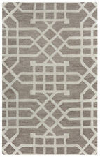 Rizzy Rugs Ivory Lines Mirrored Repeat Contemporary Area Rug Geometric CE9473
