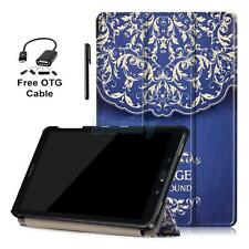 PU Leather Folio Case Pattern Cover for Samsung Galaxy Tab A 10.1 P585/P580