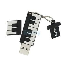 4-32GB Sotrage Piano Keyboard USB Flash Pen Thumb Drive Memory for Laptop