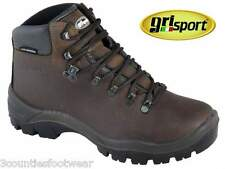 WOMENS BROWN WALKING BOOTS - GRISPORT PEAKLANDER HIKING BOOTS - WATERPROOF
