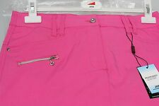 JRB Skort Golf Skirt + Shorts Combined Stretch Fabric Plain Fuchsia Pink 10 - 18