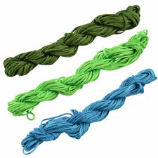 Feast Polyester Chinese Knot Bracelet Beading Rattail Cord String 16 Yards 3pcs