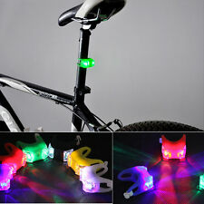 New Led Bicycle Cycling Head Light Bike Silicone Frog Front Safety Warning Lamp