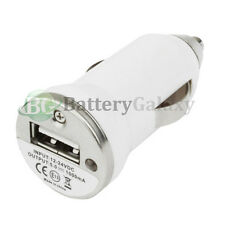 20X 25X 50X 100X Lot USB Car Charger for iPod Nano Touch iPhone 3 4 4S 5 5C 5S