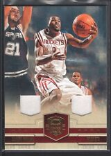 AARON BROOKS 2009/10 COURT KINGS #22 DUAL GAME JERSEY ROCKETS 113/149 SP $12