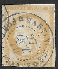 French Colonies stamps 1872 YV 19  CANC  VF