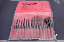 Snap-On PPC715BK 16 Piece Punch & Chisel Set, Free Shipping