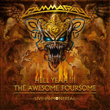 Gamma Ray-Hell Yeah - The Awesome Foursome  CD NEW