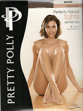 Pretty Polly Perfectly Natural Sandal Toe Tights