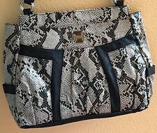 """NEW - MICHE - Prima Bag Shell - """"Valerie"""" faux snake leather - retired"""