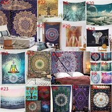 Wall Tapestry Indian Mandala Hanging Throw Gypsy Mat Dorm Decor Bedspread Cover