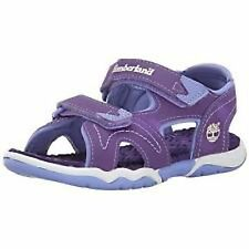 NWT TIMBERLAND GIRL'S ADVENTURE SEEKERS TWO STRAP PURPLE SANDALS SIZES: 9 & 11