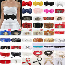 Girls Ladies Wide / Thin Dress Leather Waist Belt  Buckle Waist Band Belts Decor