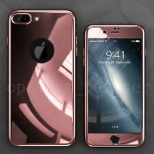 Hybrid 360° Hard Ultra thin Case Tempered Glass Full Cover For iPhone 6S Plus 7