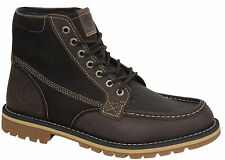 Timberland Grantly Dark Brown Lace Up Mens Boots A12HC D75