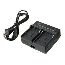 AU Dual Channel Digital Battery Charger For Olympus DLI92 SW μ9000 Camera