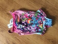 New With Tags Girls My Little Pony Swimming Costume 2/3. 3/4 Years