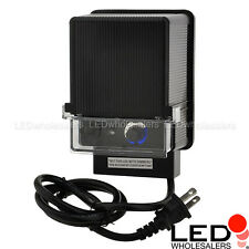 12V AC 88W Landscape Lighting Transformer with Photo Sensor & Timer Switch, UL