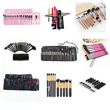 Professional Makeup Brushes Eyeshadow Eye Shadow Palette Make Up Box Kit Set HT