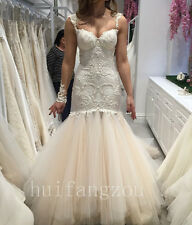 Wedding Dresses Mermaid Sweetheart Bridal Ball Gowns Formal Size 4 8 12 Plus New