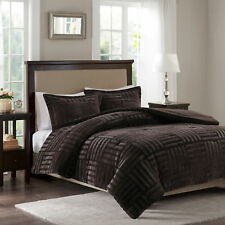 Alcott Hill Larkin Fur Down Alternative Comforter Mini Set