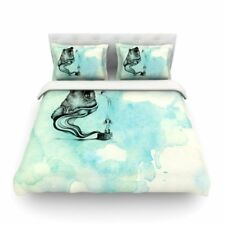 East Urban Home Hot Tub Hunter by Graham Curran Featherweight Duvet Cover