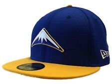 Denver Nuggets New Era 59Fifty Blue Gold Classic NBA Fitted Hat Cap