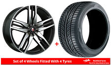 "Alloy Wheels & Tyres 22"" Axe EX22 For Audi Q7 [4L] 06-15"