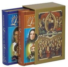 Illustrated Lives of the Saints Boxed Set by Hugo Hoever Hardcover Book (English