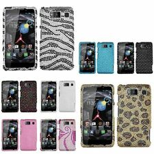 Luxury Diamond Bling Hard Protector Case Cover For Motorola Droid Razr HD XT926W