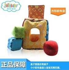 Baby Toy Cloth soft Blocks Stopper Soft Cloth Toys Safe Brand JOLLY BABY NEW