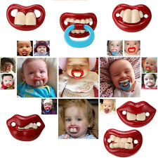 1PCS Kid Baby Toddler Assorted Novelty Funny Dummy Prank Soother Pacifier Nipple