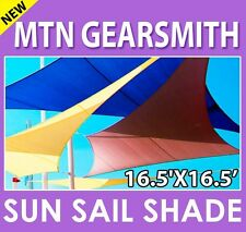 NEW MTN SUN SAIL SHADE CANOPY TOP COVER 16.5'x116.5' RECTANGLE SQUARE
