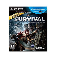 Cabela's Survival: Shadows of Katmai (PlayStation 3, 2011) PS3 GAME BRAND NEW!!!