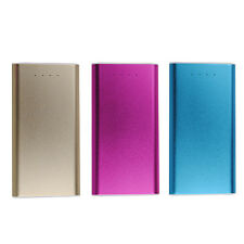 Slim Thin 30000mAh LED Metal Portable External Backup Battery Charger Power Bank