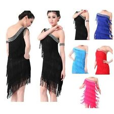 Latin Dance Dress Salsa Tango Chacha Ballroom Competition Dress Party Club Dress