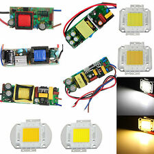 10W 20W 30W 50W 100W LED Chip Light Cool Warm White/ Driver Power Supply