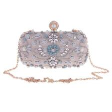 Luxury Crystal Rhinestone Women Clutch Wedding Evening Bag Purse Handbag Wallets