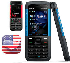 USA USPS! New Nokia 5310 Xpress Music (T-Mobile)Red/Blue Bluetooth Bar Phone