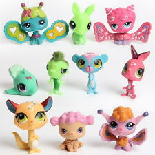 10/20X Lovely Toys RANDOM LITTLEST Pet SHOP Lot Girl Auction Figures Child Loose
