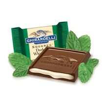 MINT GHIRARDELLI DARK CHOCOLATE SQUARES Lindt Lindor gift present after eight