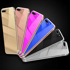 Colored Mirror Tempered Glass Film Screen Protector for iPhone 5 5S 6 6S Exotic