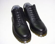 Dr. Martens Harrisfield Air Cushion Sole Boot, Tumbled Leather Upper, Black, New