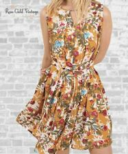 NWT Boutique Umgee Belted Floral Dress - Honey - Small, Medium & Large