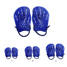 1 Pair Swimming Gloves Hand Webbed Finger Fins Training Paddle Gloves Exotic