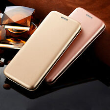Luxury Leather Case Slim Flip Stand Card Wallet Cover Skin For Various Phones