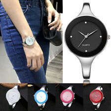 Woman Quartz Bracelet Wrist Watch Stainless Steel Watches Elegant Vintage Watch