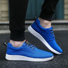 Fashion Mens Breathable Canvas Sport Shoes Athletics Running Outdoor Sneakers