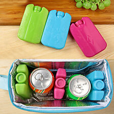 Ice Blocks for Coolers Camping lunch fresh and cool freezer Packs Bag Box