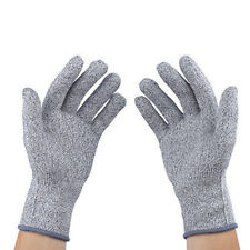 Level 5 Safety Knife Cut Proof Stab Resistant HPPE Mesh Butcher Gloves S-XL